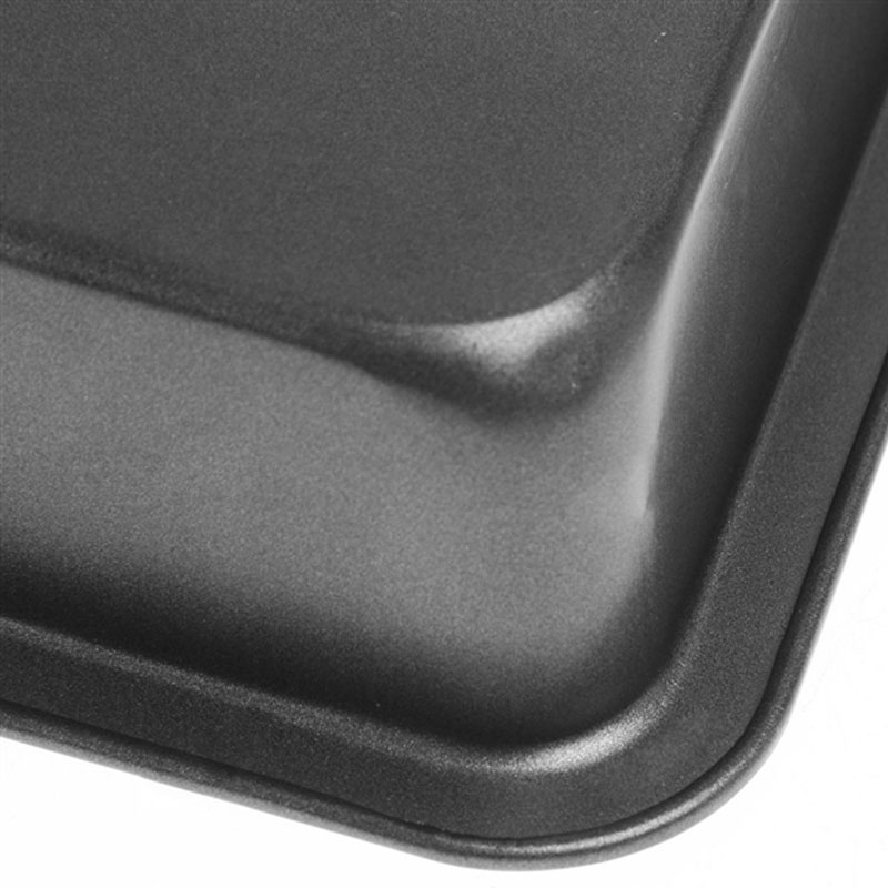 KCASA KC-OP02 8 Inches Stainless Steel Nonstick Square Pizza Cake Mold Bread Cookie Tray Oven Pan