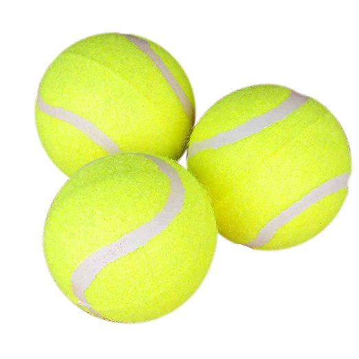 Yani Dct 2 Squishy Giant Tennis Ball Dog Toy Chewing Sport Outdoor