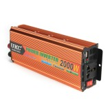 2000W/100W DC 12V to AC 220V Power Inverter LCD Display Solar Inverter Power Converter