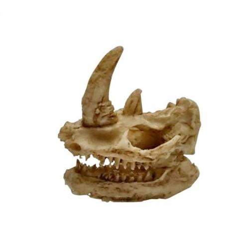 Yani aquarium decoration exotic environments skull for Fish tank skull decoration