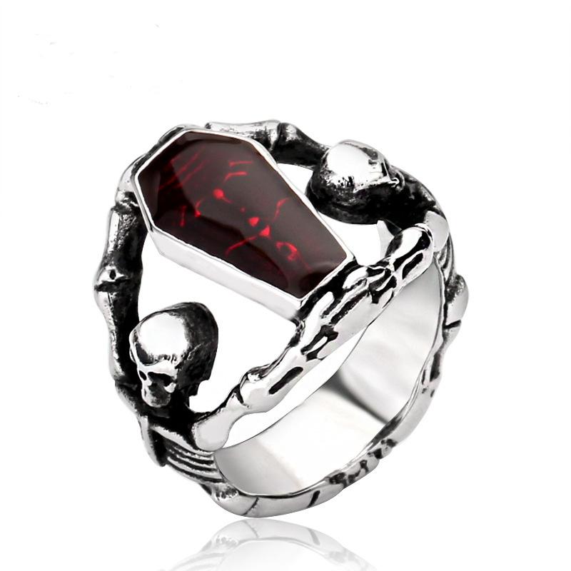 Size  Men Gothic Ring