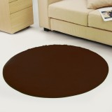 Round Anti-Skid Fluffy Shaggy Area Rug Dining Room Home Table Carpet Floor Mat