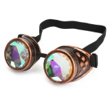 BIKIGHT Outdoor Festivals Kaleidoscope Glasses for Raves – Prism Diffraction Crystal Lenses