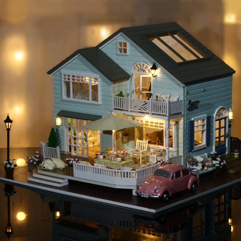 Cuteroom A 035 A Queens Town Diy Dollhouse Miniature Model