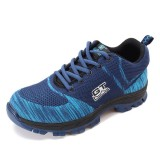 Men Comfortable Anti Collision Toe Wear Resistance Outsole Outdoor Hiking Athletic Shoes