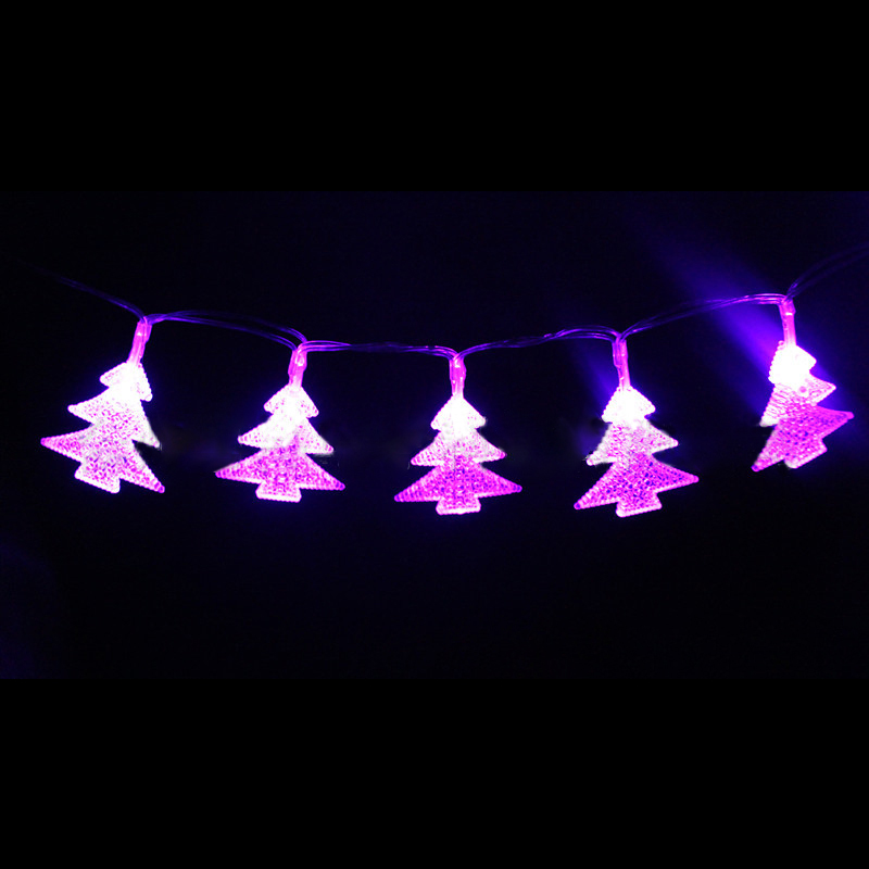KCASA 3M 20 LED Christmas Tree String Lights LED Fairy Lights for Festival Christmas Halloween Party Wedding Decoration Battery Powerd