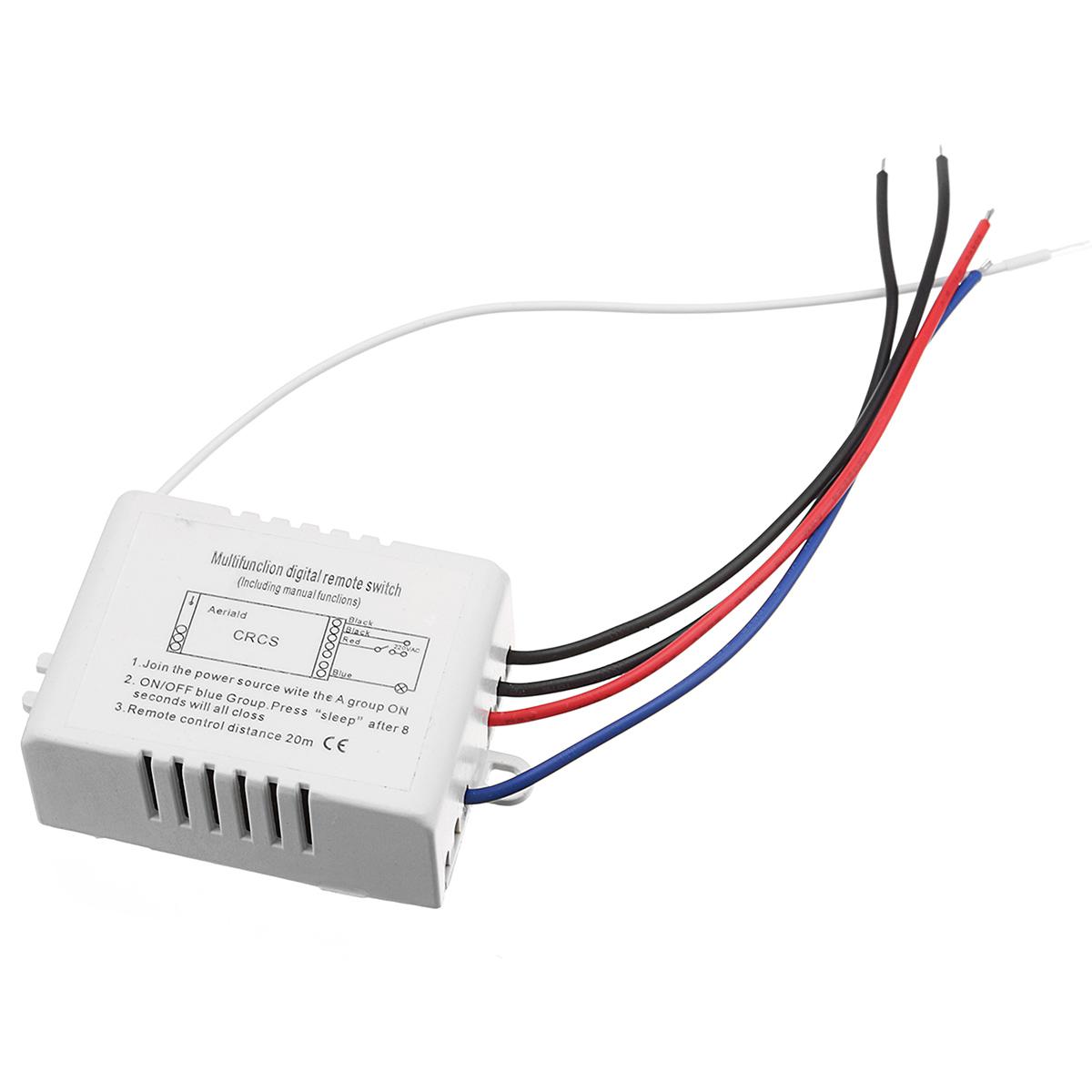 1 x One-Way Switch 1 x Remote control