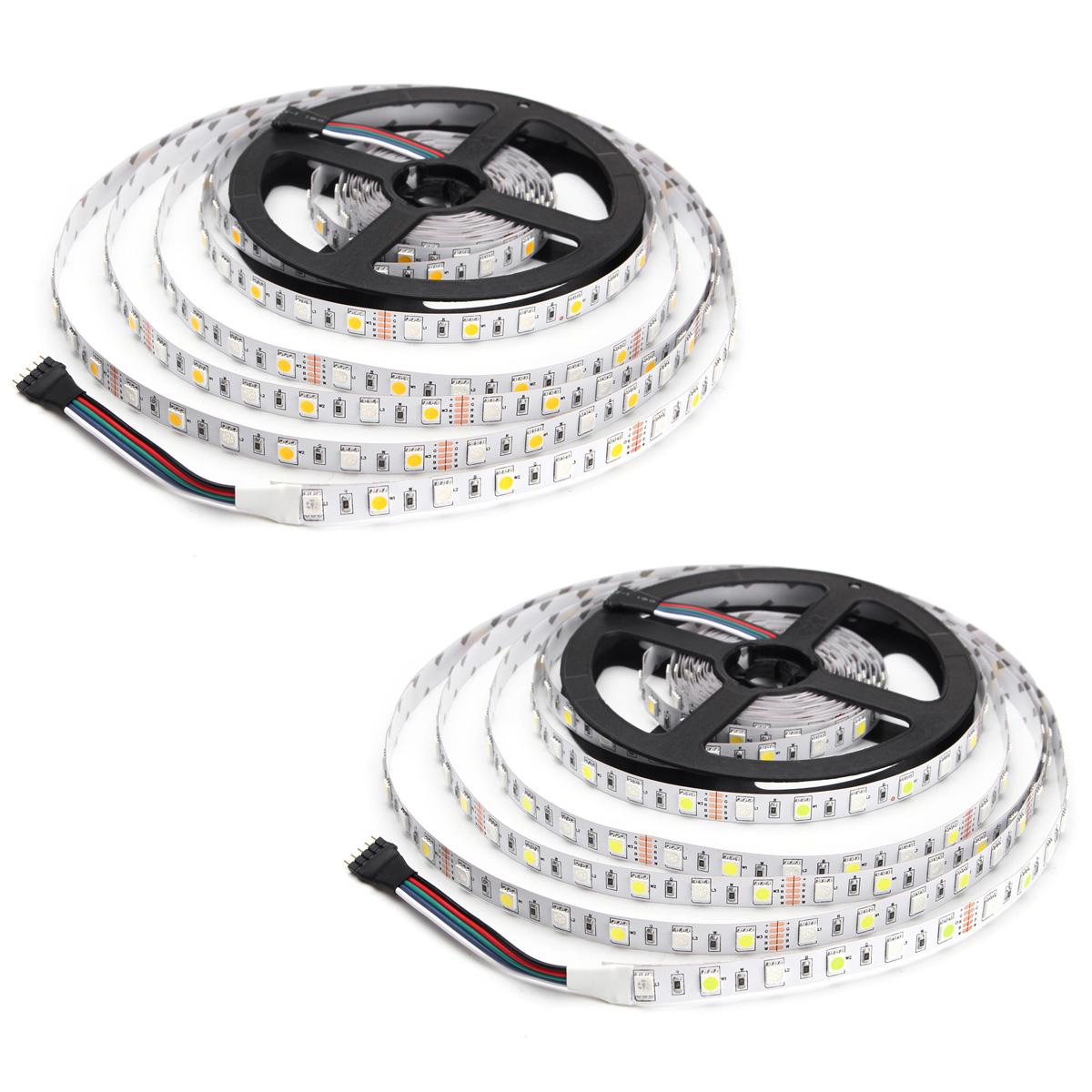 5M RGBW RGBWW SMD 5050 Non-Waterproof LED Flexible Strip ...