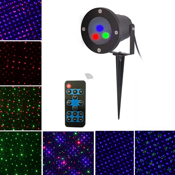 Mini christmas outdoor rgb dynamic laser projector stage for Mini outdoor projector