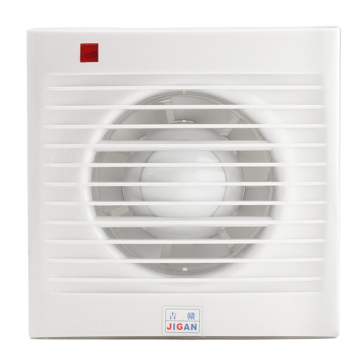 "4"" 6"" 8"" Waterproof Mute Bathroom Extractor Exhaust Fan Window For Kitchen Toilet Ventilation Fans"