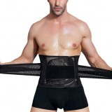 Men's Adjustable Waist Belly Belt High Elasticity Sport Fitness Body Shaper