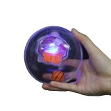 Plastic Rotating Fidget LED Light Basketball ADHD Autism Reduce Stress Focus Attention Toys
