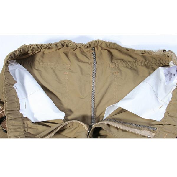 Mens Detachable Pants High Quality Fashion Casual Trousers Suit Pants Tactics Trousers