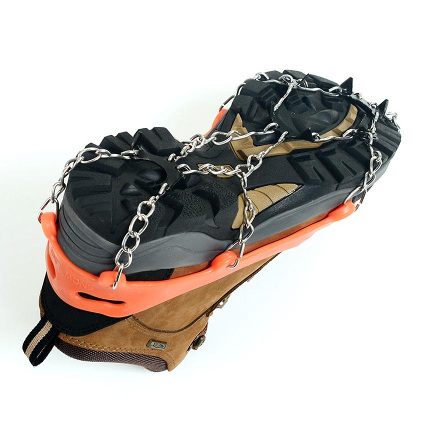 Snow Grip Spike Ice Shoes Boots Anti Slip 8 Teeth Climbing