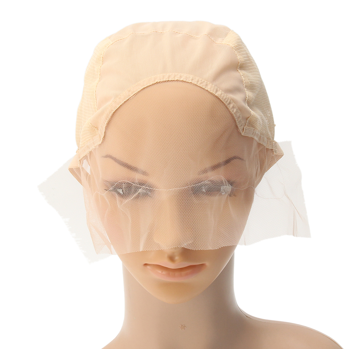 Wig Cap For Wig Making Weave Cap Elastic Hair Net Mesh Adjustable