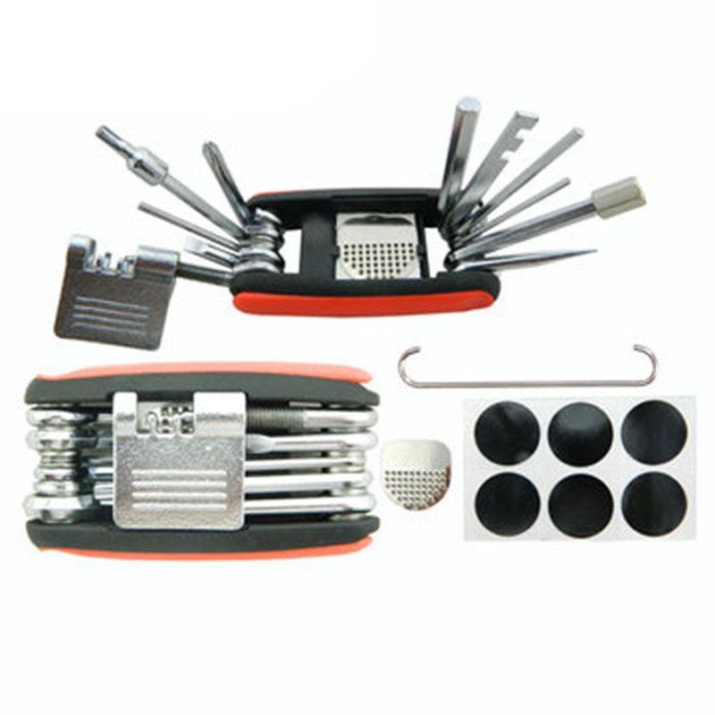BOY 8050 Bicycle Tools Multifunctional Tire Repair Tool ...
