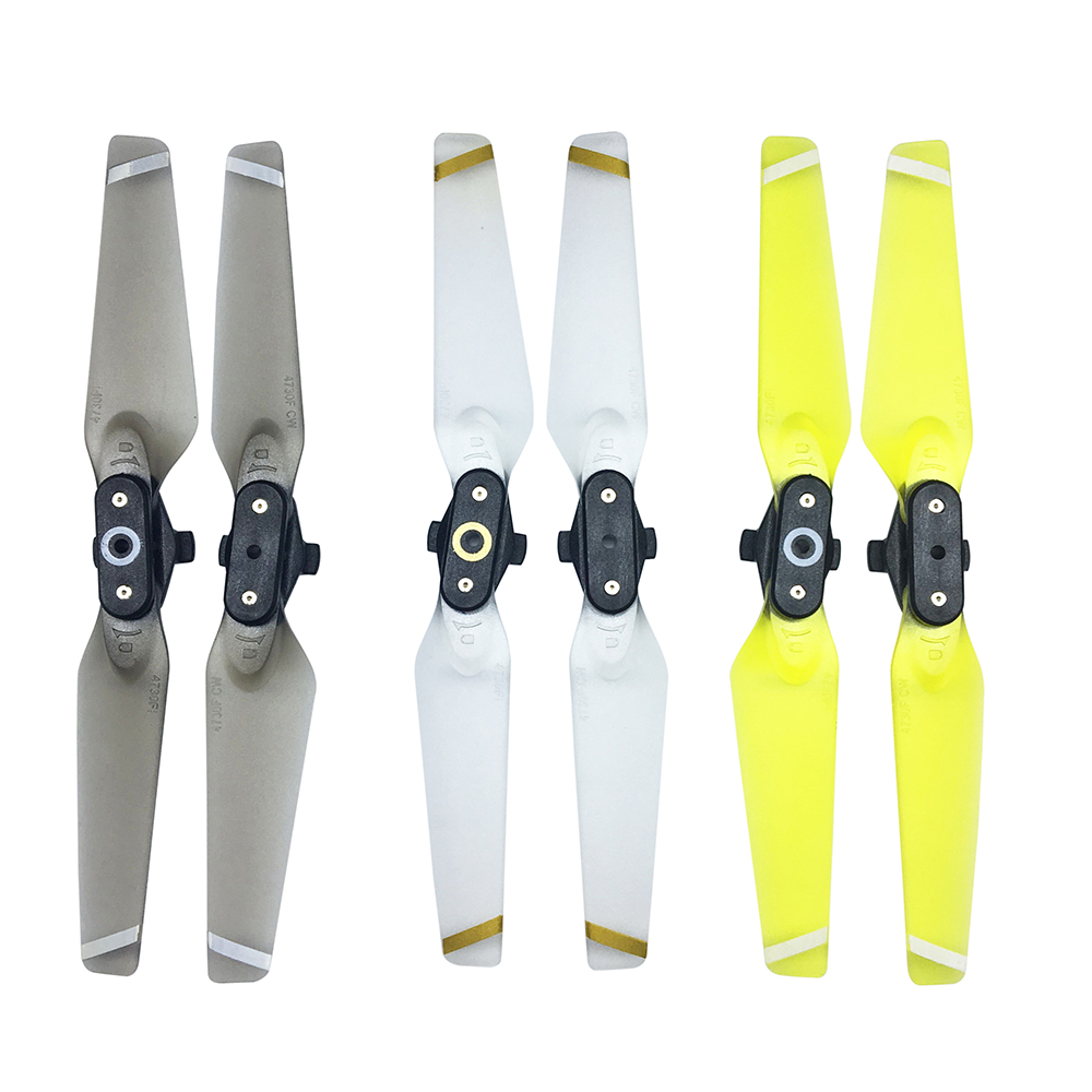 1 Pair Quick-release Folding Propellers Colorful Transparent Clear Blades For DJI Spark RC Drone