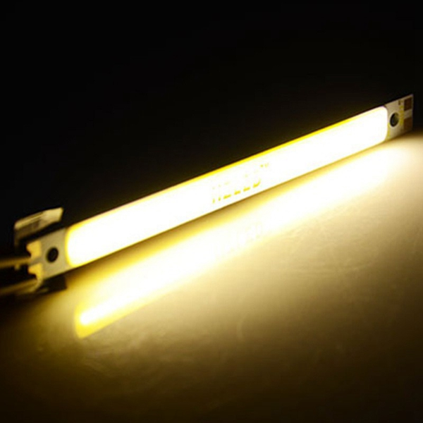 5W COB LED Chip DC12V Warm / Pure White 100x20mm for DIY Lamp Light