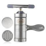 Noodle Maker Manual Press Machine Pasta Spaghetti Fruit Juicer Stainless Steel