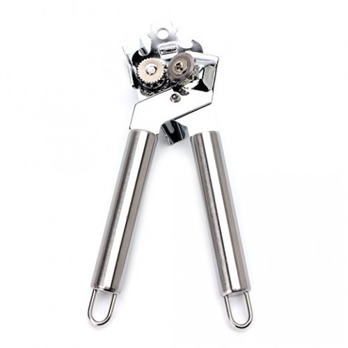 Stainless Steel Heavy Duty Can Bottle Jar Tin Lid Opener Manual Kitchen Opening Tool