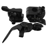 22mm Motorcycle Throttle Lever Thumb Controller Throttle Bracket Handlebar Mount ATV Dirt Bike