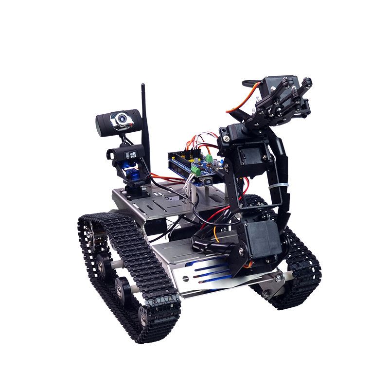 Xiao r diy smart robot wifi video control tank with camera