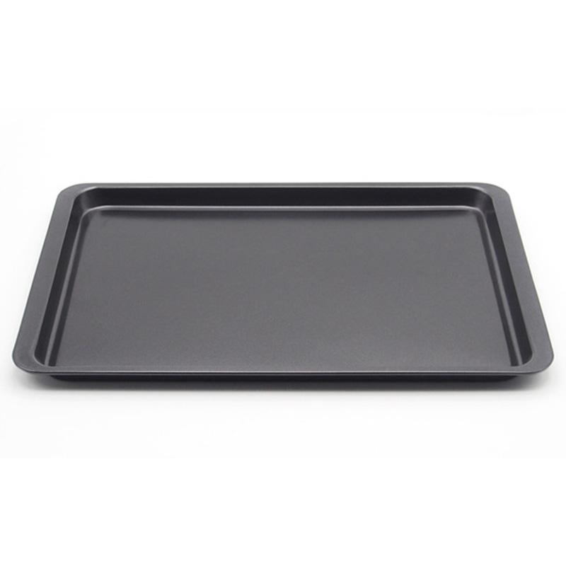KCASA KC-OP03 Stainless Steel Nonstick Rectangular Cake Mold Bread Cookie Sheet Tray Oven Pan
