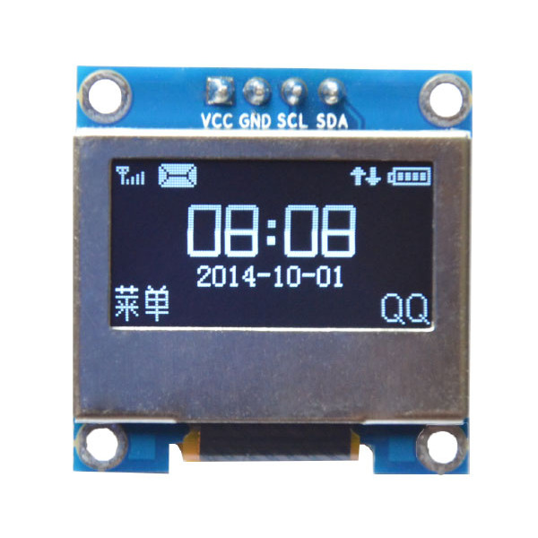 inch 4pin white led iic i2c oled display with screen protection cover for arduino. Black Bedroom Furniture Sets. Home Design Ideas
