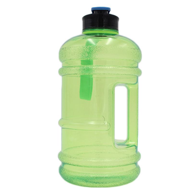 2.5L Sports Water Bottle Drink Big Large Cap Kettle Workout Sport Gym Train BPA