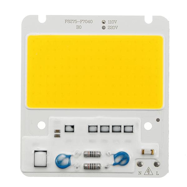 50W 5000LM DIY COB LED Light Chip Bulb Bead 82x75mm For Flood Light AC110/220V
