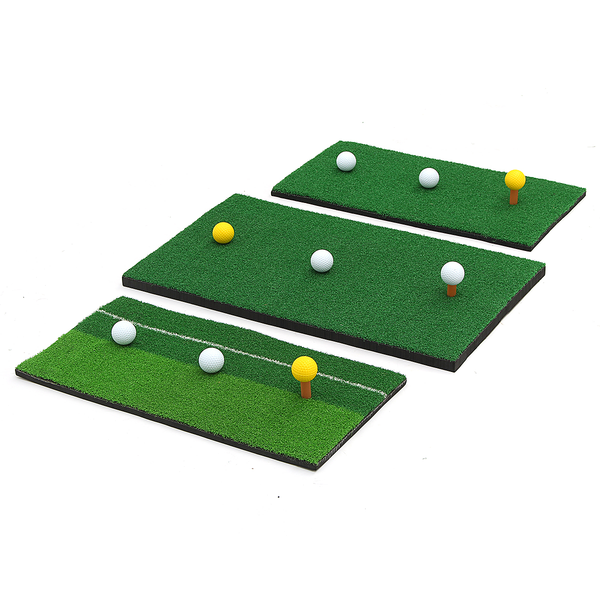Golf Putting Training Mats Nylon Turf Chipping Driving Range Practice Mat Indoor Alexnld Com