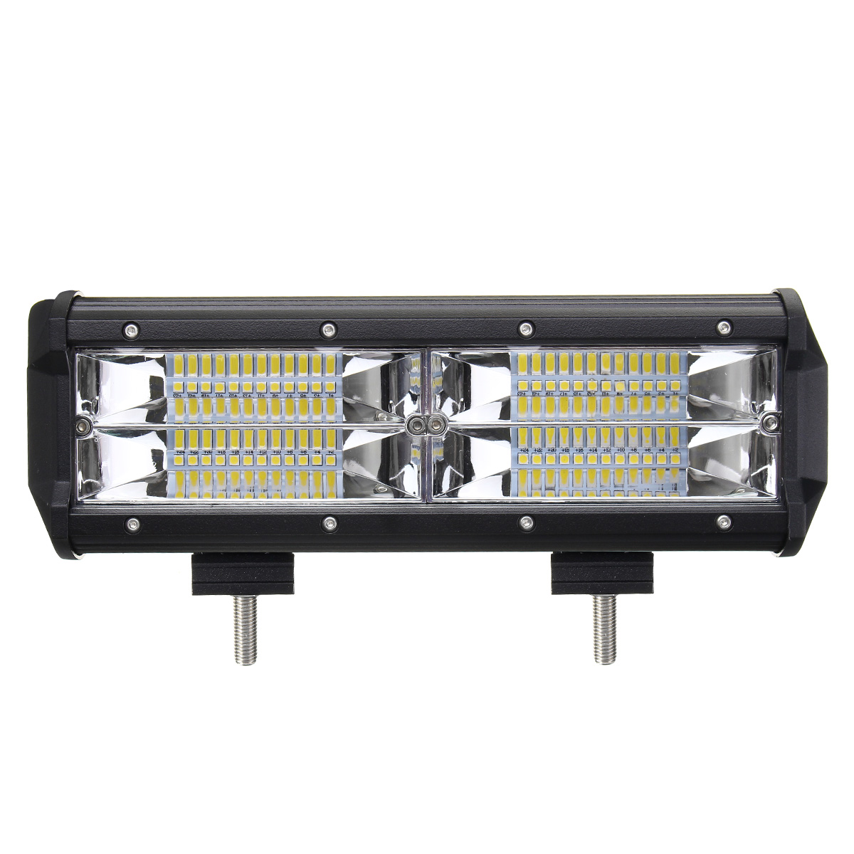 8d 7 inch 216w led light bar flood spot combo off road car truck 10 30v. Black Bedroom Furniture Sets. Home Design Ideas