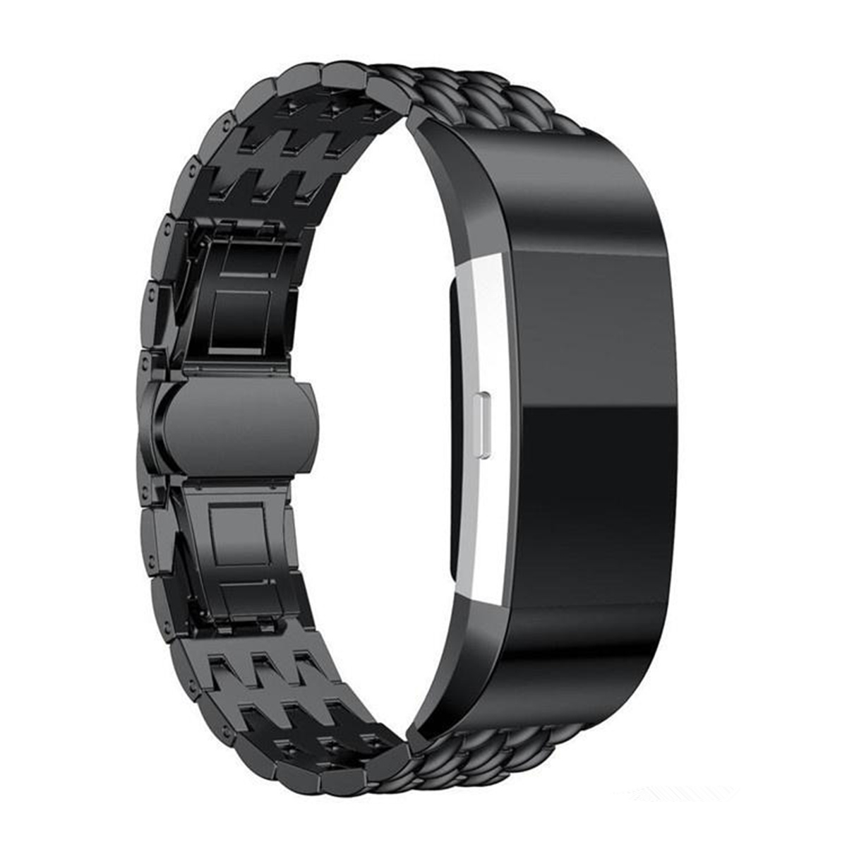 Banded Bands: Replacement Screwless Metal Strap Stainless Wrist Band For