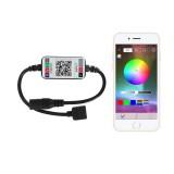 DC5-12V RGB LED Bluetooth APP Controller For 5050 3528 Strip Light