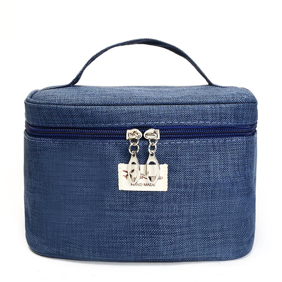 KCASA KC-MB02 Portable Travel Storage Bag Durable Canvas Cosmetic ...