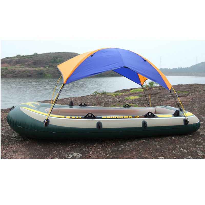 Boat Tent Shelter : Ipree sun shelter fishing tent inflatable boat rubber