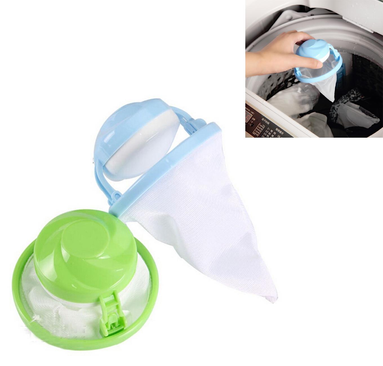 Honana BH-225 Mesh Laundry Filter Wool Washing Ball Hair Removal Device  Magic Floating Washing Bag