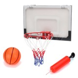 Mini Basketball Set Indoor Net Hoop with Ball Pump Indoor Sporting Game Goods