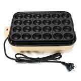 24 Holes Takoyaki Grill Pan Plate Cooking Octopus Ball Kitchen Maker Baking Mold BBQ Tools