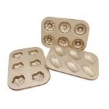 KCASA KC-BK10 Multifunction Baking Pan Dish Nonstick Stainless Steel Cake Mold DIY Donut Bakeware