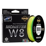 SeaKnight W8 500M 8 Strands Fishing Line Multi-Colors 20-100LB Saltwater Braided Wire