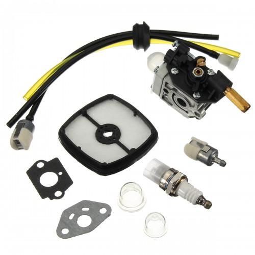 Carburetor Set For Echo SRM201 SRM230 SRM231 HC160 HC180 HC200 Zama RB-K70A RB-K66B