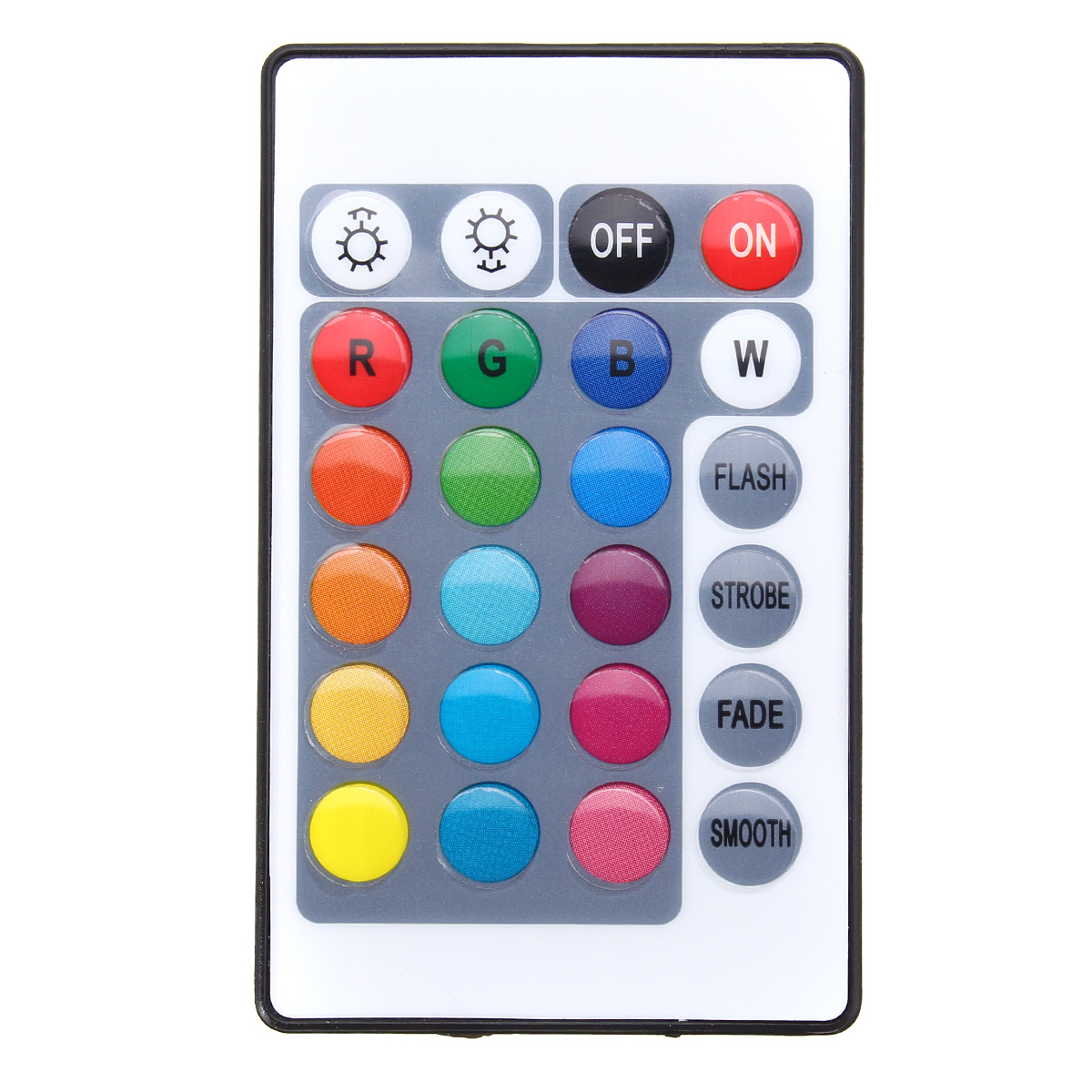 24 Keys USB LED Controller with Remote Control for DC5V 5050 RGB Strip Light