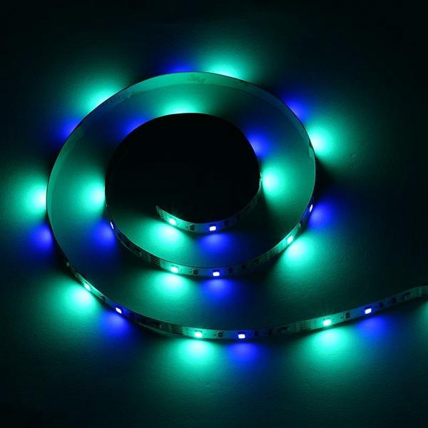 2M 3M 5M USB Waterproof SMD 2835 RGB TV Background Strip Light With 17 Keys RF Remote DC5V