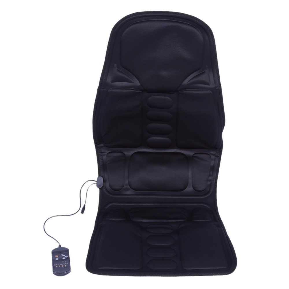Loskii Electric Back Neck Massage Chair Seat Auto Car Home