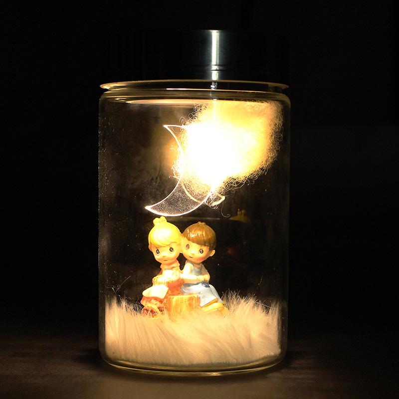 Solar Toys Valentine : Valentine s day solar power charging pot decoration gift
