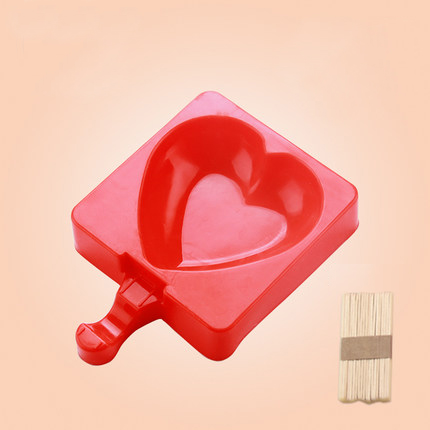 KCASA KC-BM6 Creative Silicone Ice Cream Mold Ice Pops Tray Chocolate Mold Cookies Mould Ice Lolly