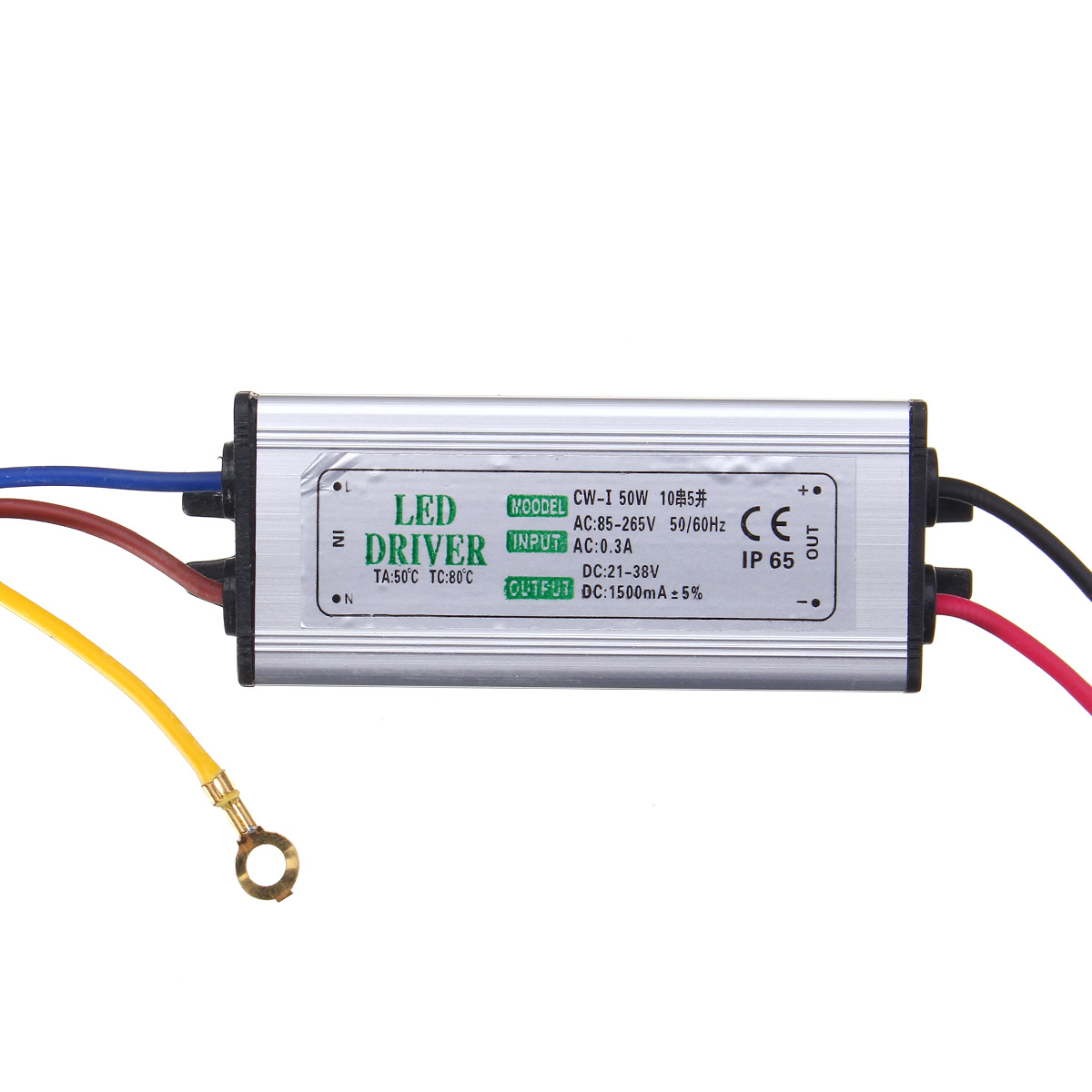 50w Led Driver Power Supply: 10W 20W 30W 50W 100W Waterproof High Power Supply LED