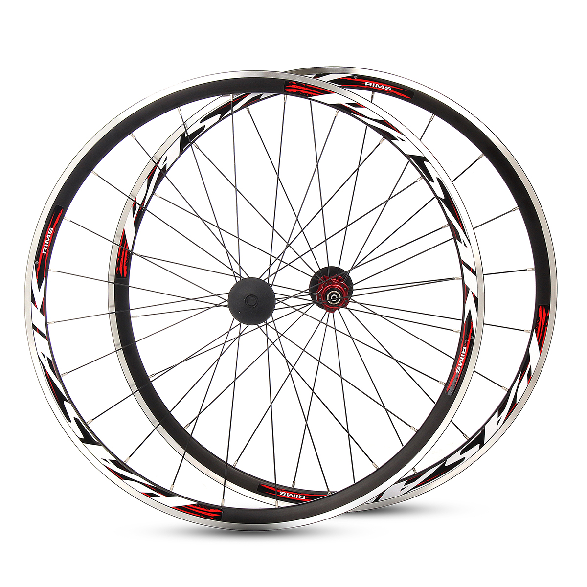 Pasak 700c ultralight road bicycle wheel front rear for Bicycle rims