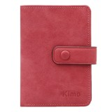 12 Card Slots Women Genuine Leather Minimalist Elegant Short Wallet Card Holder Purse